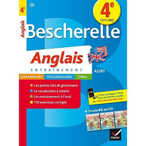 BESCHERELLE ANGLAIS 4E