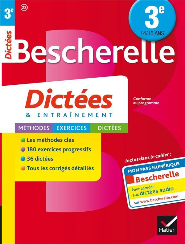 BESCHERELLE DICTEES 3E