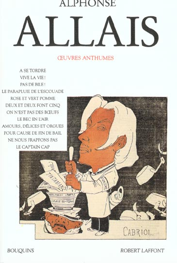 ALPHONSE ALLAIS - OEUVRES TOME 1 ANTHUMES - VOL01