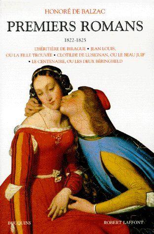 PREMIERS ROMANS - (1822-1825) - TOME 1