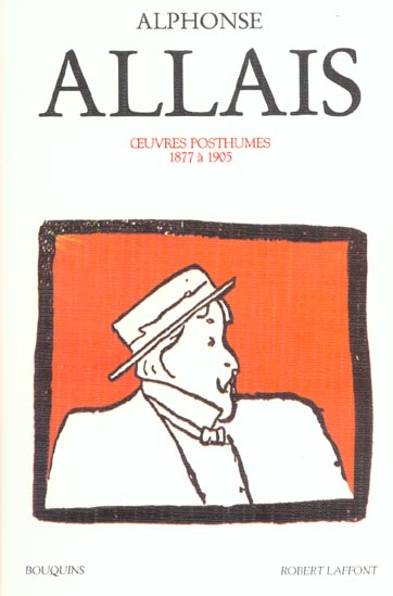 ALPHONSE ALLAIS - OEUVRES TOME 2 POSTHUMES