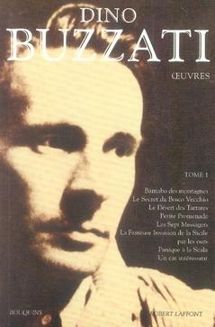 OEUVRES DE DINO BUZZATI - TOME 1 - BOUQUINS - NE - VOL01