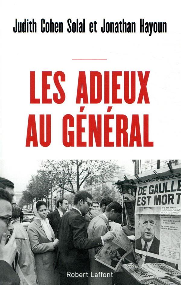 LES ADIEUX AU GENERAL