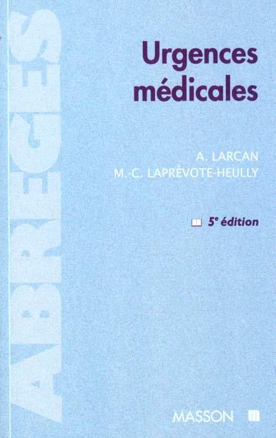 URGENCES MEDICALES 5EME EDITION
