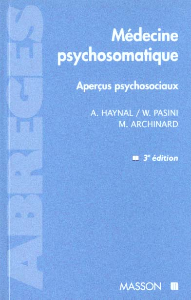 MEDECINE PSYCHOSOMATIQUE