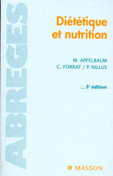 DIETETIQUE ET NUTRITION 5EME EDITION
