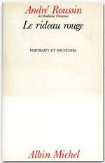 LE RIDEAU ROUGE - PORTRAITS ET SOUVENIRS