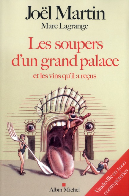 LES SOUPERS D'UN GRAND PALACE