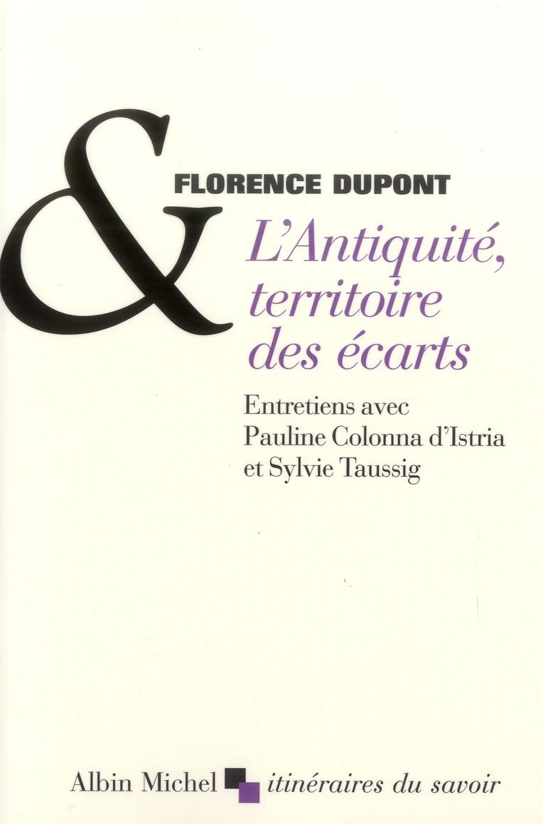 L'ANTIQUITE,TERRITOIRE DES ECARTS