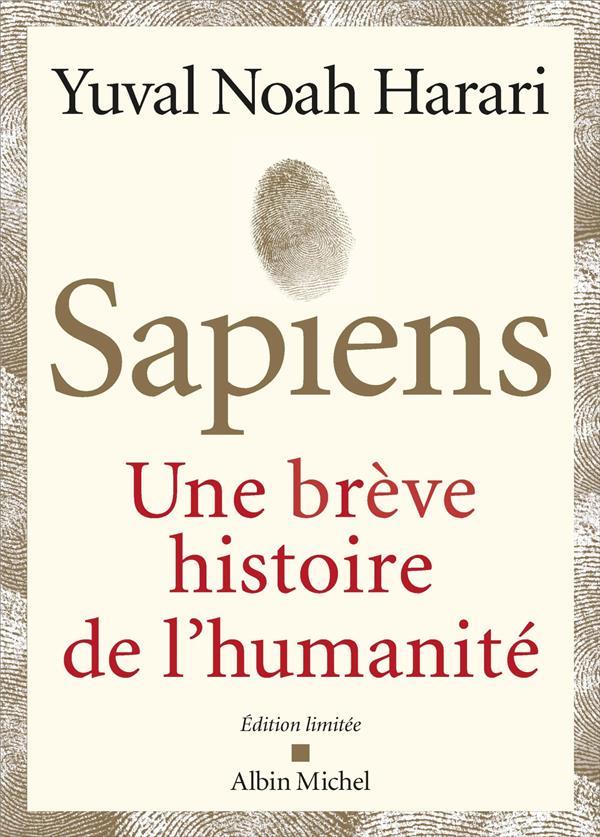 SAPIENS - EDITION DE LUXE ILLUSTREE - UNE BREVE HISTOIRE DE L'HUMANITE