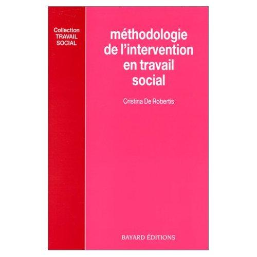 METHODOLOGIE DE L'INTERVENTION