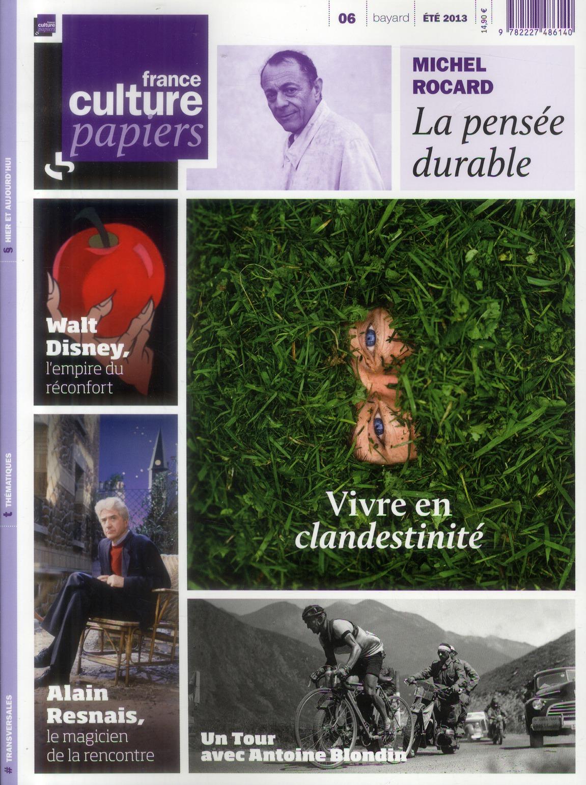 FRANCE CULTURE PAPIERS T6