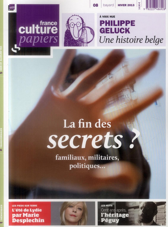 FRANCE CULTURE PAPIERS T8