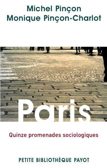 PARIS - QUINZE PROMENADES SOCIOLOGIQUES - PBP N 926