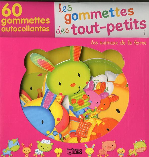 GOMMETTES T.P. ANIMAUX FERME