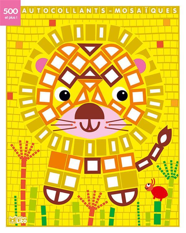TABLEAUX AUTOCOLL LE LION