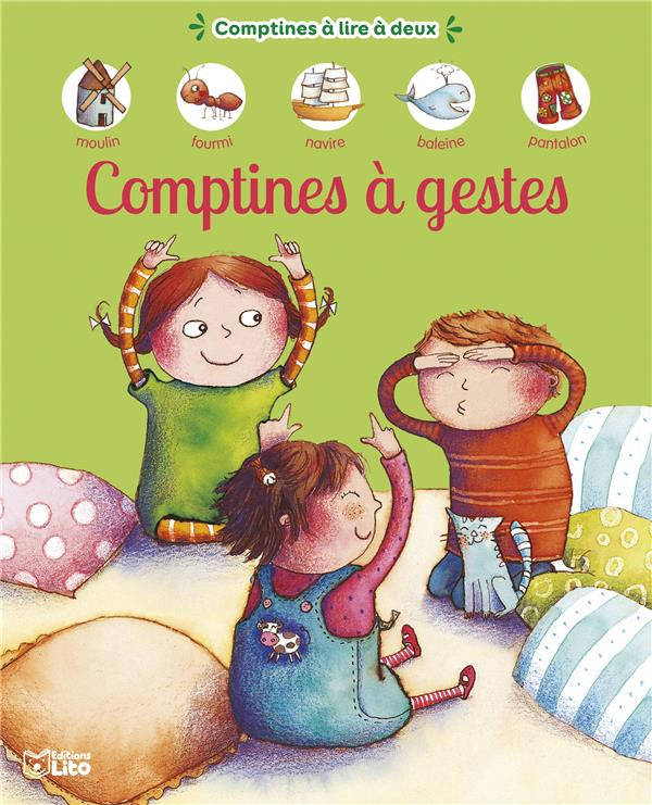 COMPTINES A LIRE  A GESTES