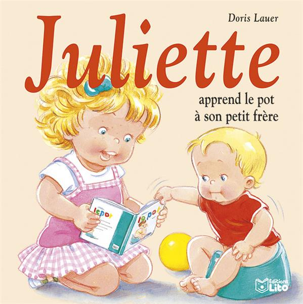 LIVRE JULIETTE APPREND LE POT