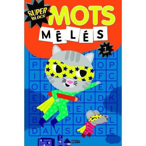 BLOCS MOTS MELES 7 ANS