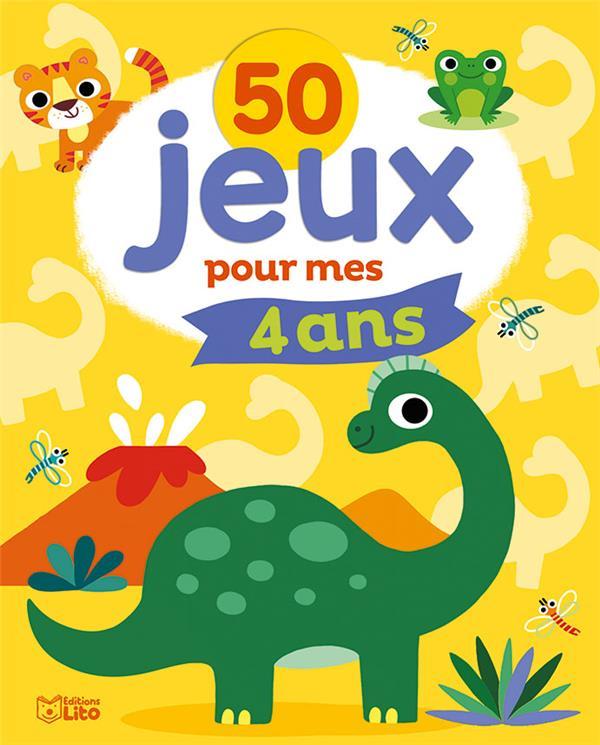 50 JEUX POUR MES 4 ANS