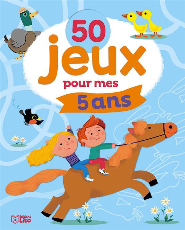 50 JEUX POUR MES 5 ANS
