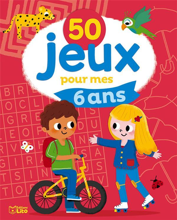50 JEUX POUR MES 6 ANS