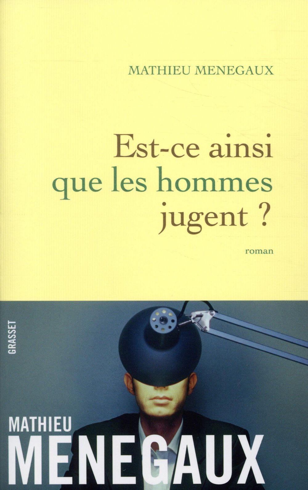 EST-CE AINSI QUE LES HOMMES JUGENT ? - ROMAN
