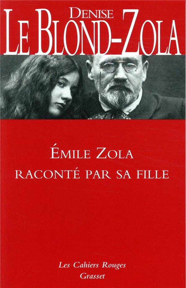 ZOLA RACONTE PAR SA FILLE - INEDIT - LES CAHIERS ROUGES