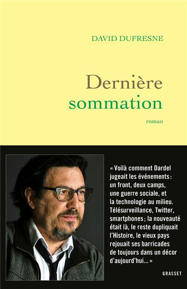 DERNIERE SOMMATION - ROMAN