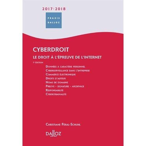 CYBERDROIT 2018/19. LE DROIT A L'EPREUVE DE L'INTERNET - 7E ED.