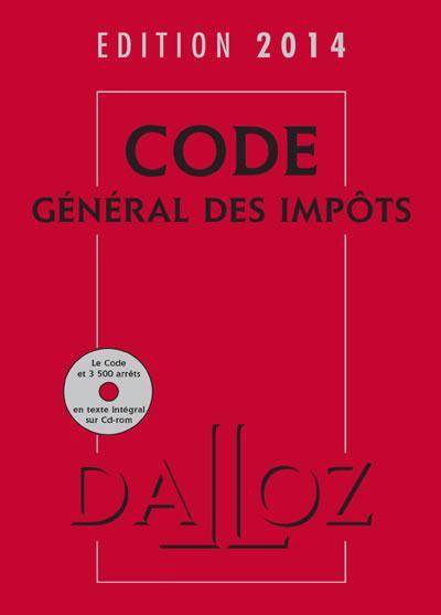CODE GENERAL DES IMPOTS 2014 AVEC CEDEROM