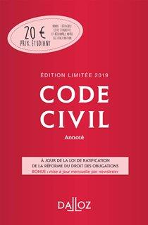 CODE CIVIL 2019 ANNOTE. EDITION LIMITEE - 118E ED.