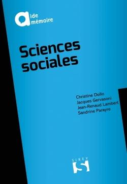 SCIENCES SOCIALES - 9E ED.