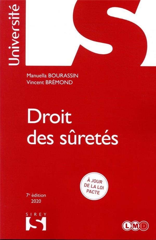 DROIT DES SURETES - 7E ED.