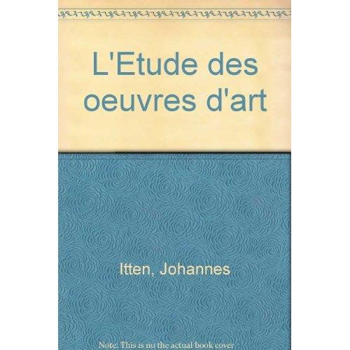 ETUDE OEUVRES D ART