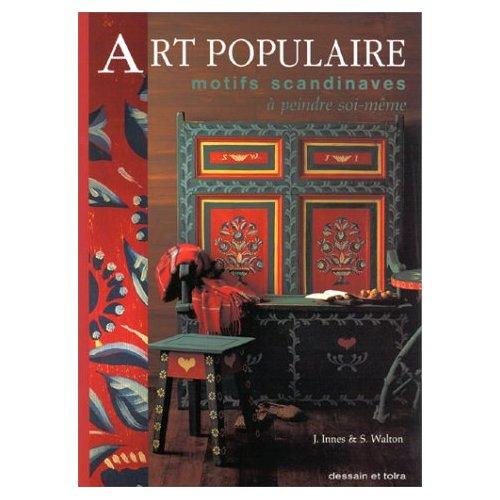 ART POPULAIRE MOTIFS SCANDINAVES