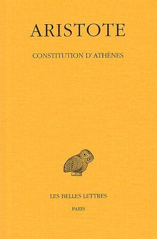 CONSTITUTION D'ATHENES