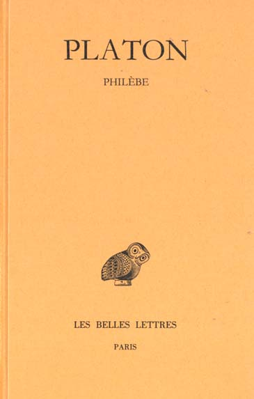 OEUVRES COMPLETES. TOME IX, 2E PARTIE: PHILEBE
