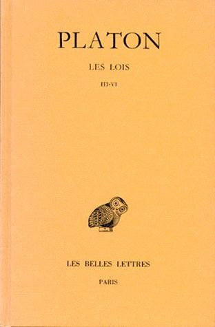 OEUVRES COMPLETES. TOME XI, 2E PARTIE: LES LOIS, LIVRES III-VI