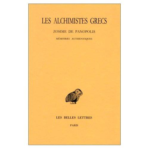 ALCHIMISTES GRECS T4 1ERE PARTIE (LES)