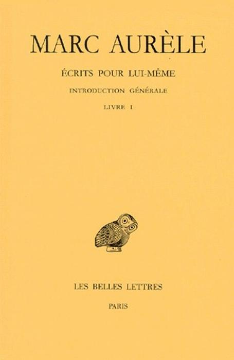 ECRITS POUR LUI-MEME T1 L1