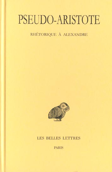 RHETORIQUE A ALEXANDRE
