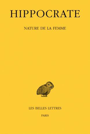 TOME XII, 1RE PARTIE : NATURE DE LA FEMME
