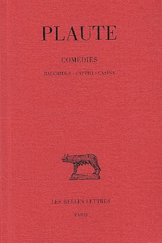 THEATRE T2 BACCHIDES,CAPTIVI,CASINA