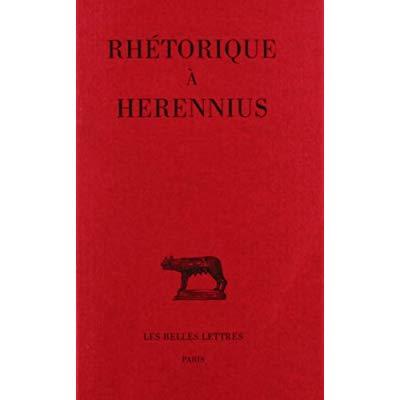 RHETORIQUE A HERENNIUS