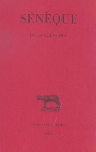 DE LA CLEMENCE (NOUV.EDITION)