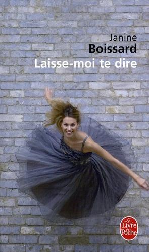 LAISSE-MOI TE DIRE