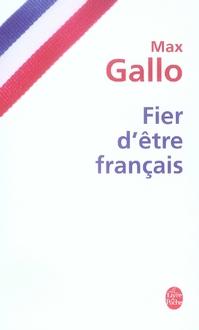 FIER D'ETRE FRANCAIS