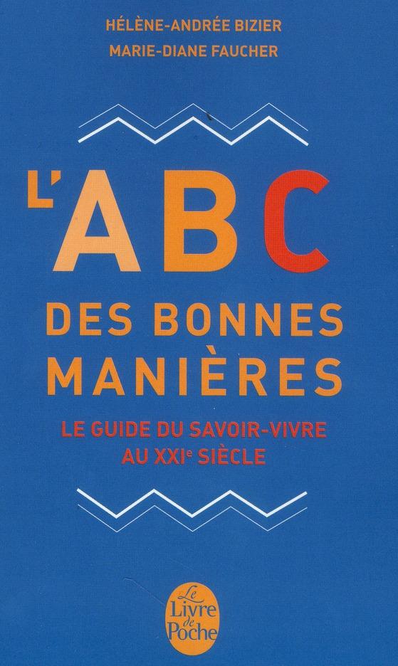 L'ABC DES BONNES MANIERES