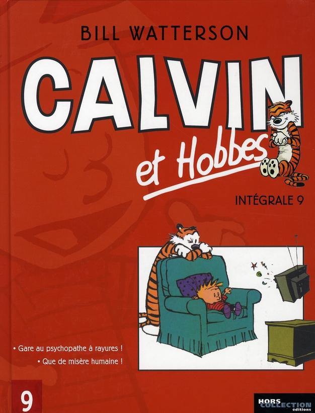 INTEGRALE CALVIN ET HOBBES - TOME 9